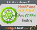 Best Green Web Host 2010