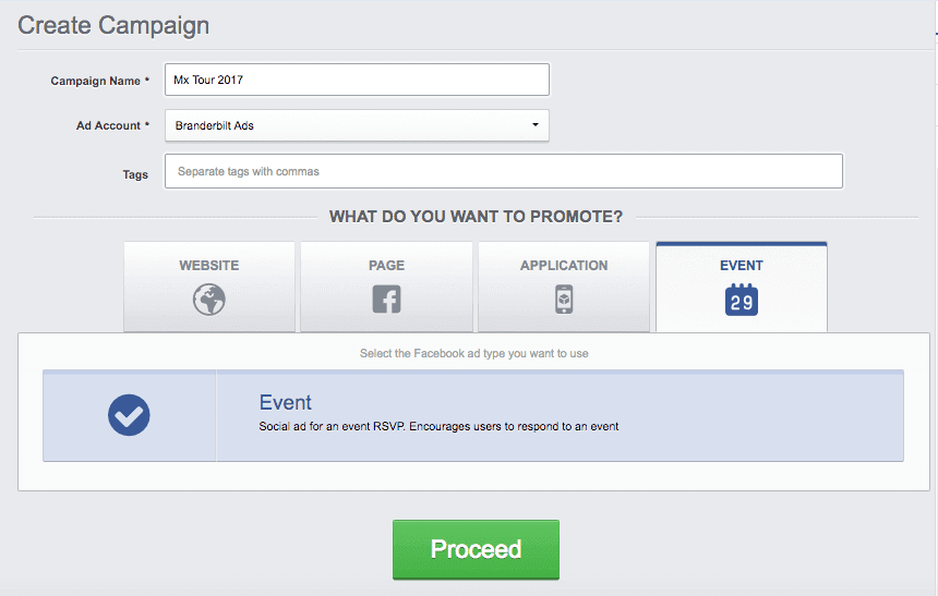 Get more event responses with facebook ads