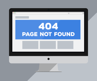 Create a customized 404 error page