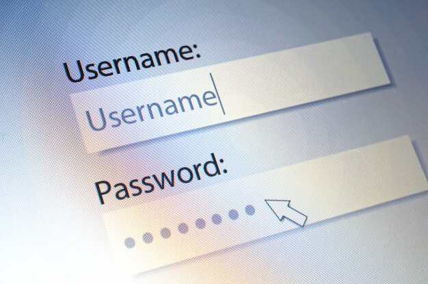 Choose a good username and password for more security