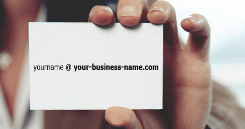 Get an email domain for your business