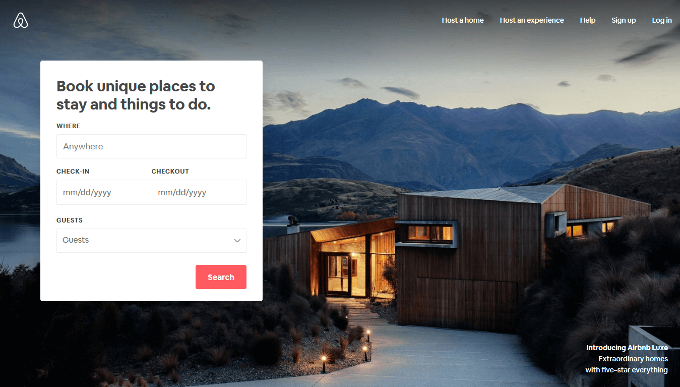 With these airbnb example you can see how to use a CTA