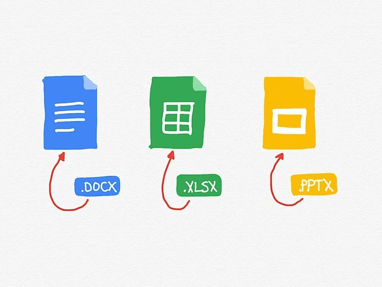 Google docs, slides and sheets are great tools to work with your team