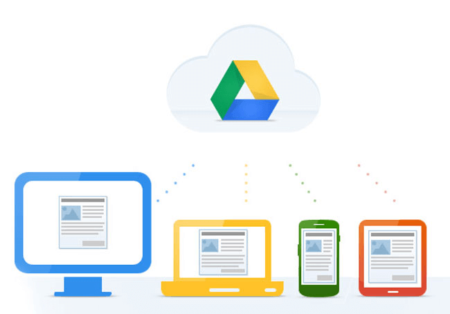 Share all your documents with your team with google drive