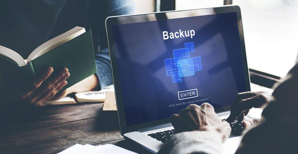 You need backups to ensure you have all your information safe