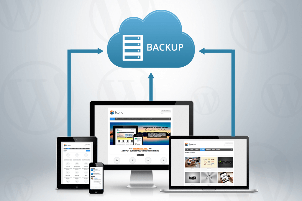 Make sure you are backing up your site