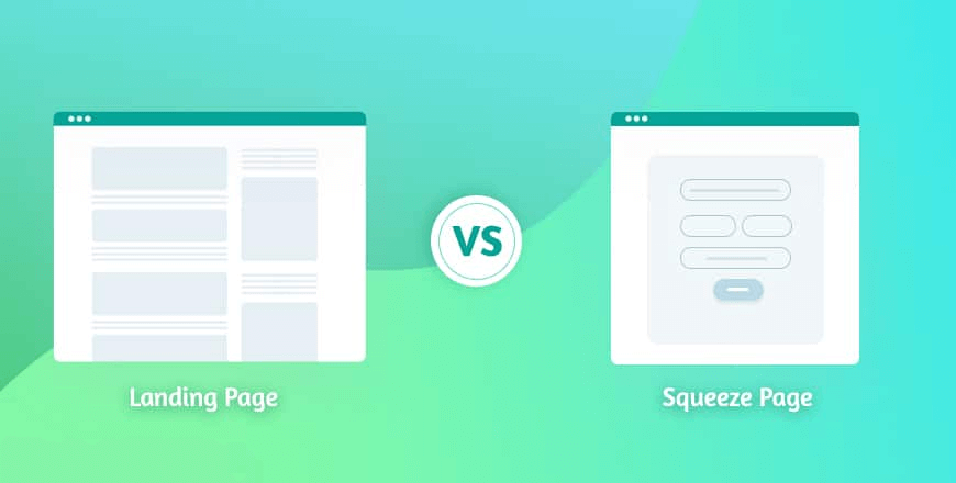 Squeeze Page vs Landing Page