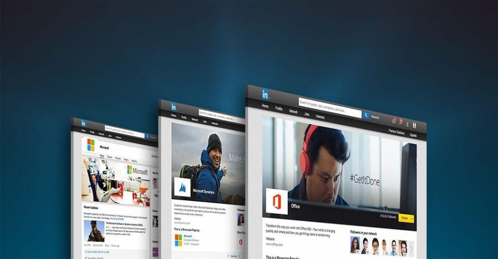 Create a showcase page to promote your LinkedIn