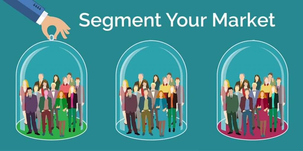 Segment your audience to send targeted messages