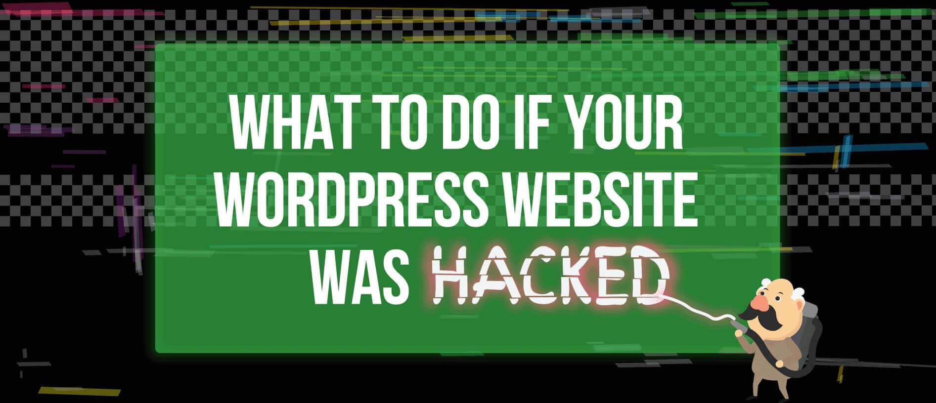 Infographic: What to Do if Your WordPress Website Was Hacked
