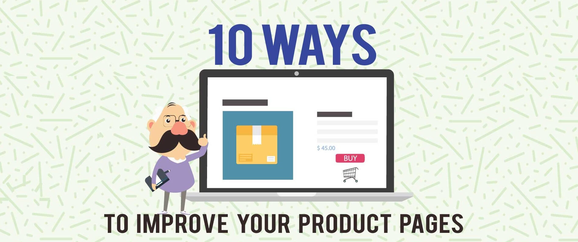 Product page infographic