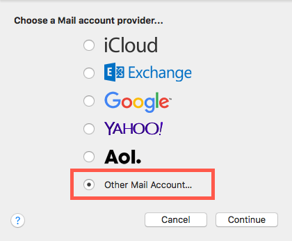 3 - other email account