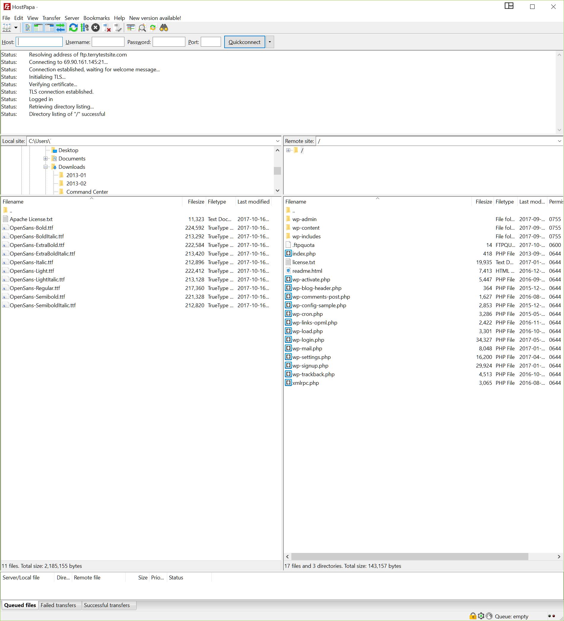 How to use Filezilla to transfer files via FTP - HostPapa