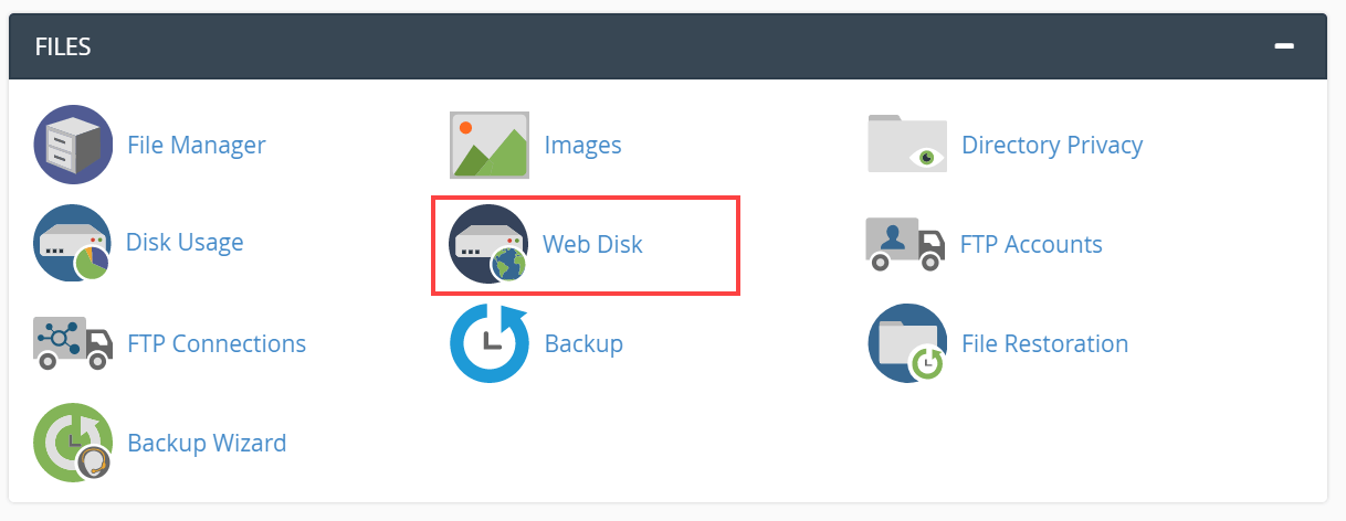 How to use cPanel's Web Disk - HostPapa Knowledge Base
