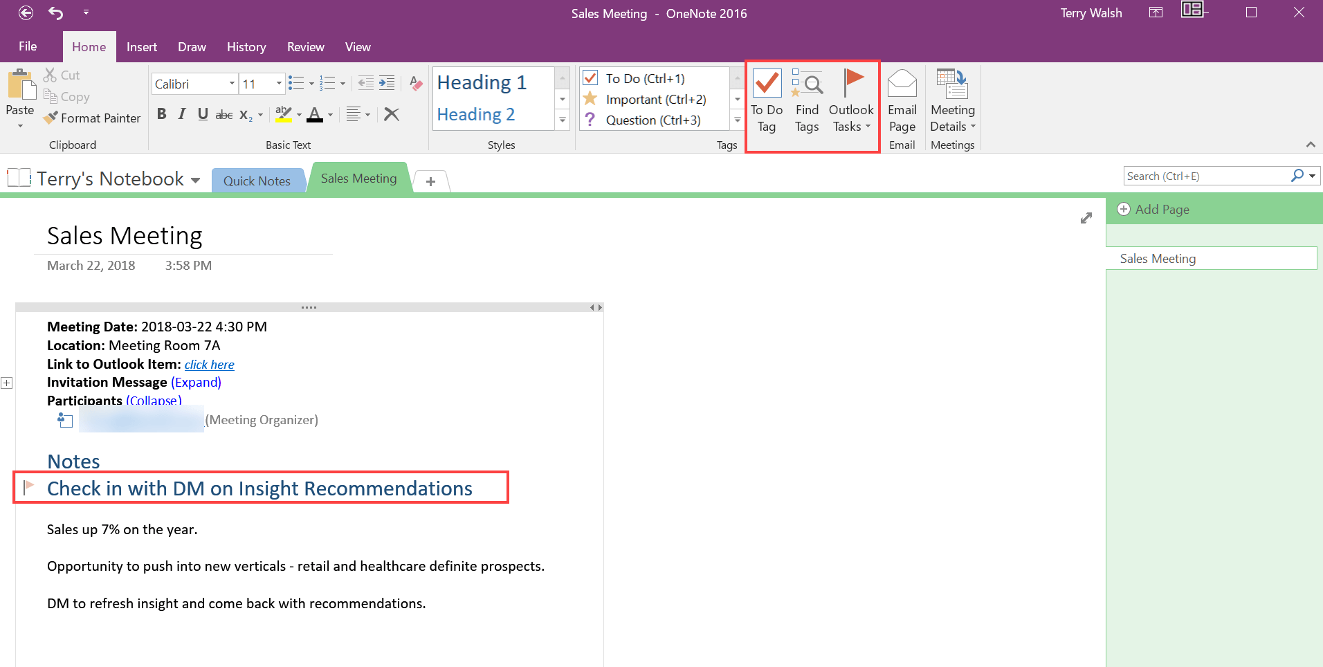 How to take Outlook meeting notes using OneNote - HostPapa