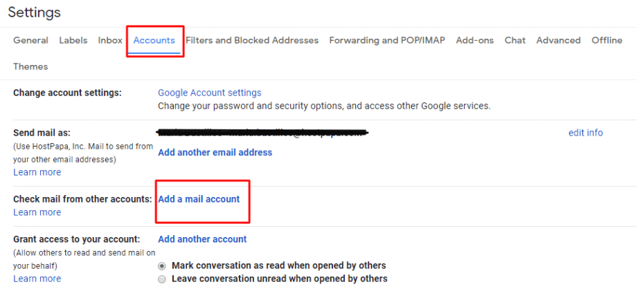 How to import your domain email account into your Gmail