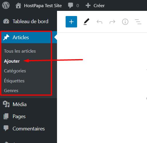 Wordpress dashboard 4